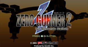 Zerodiv s'explique sur le piètre portage Switch de Zero Gunner 2