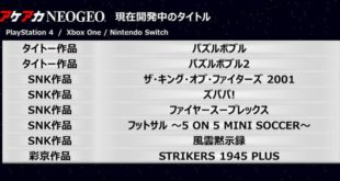 Strikers 1945 Plus rejoint la gamme Arcade Archives NEOGEO